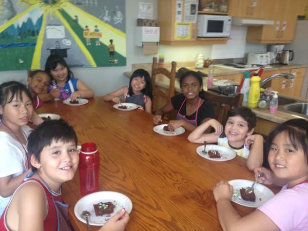 Kids Camp Week 5 baking