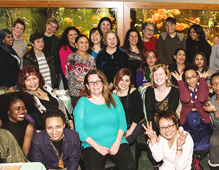Nellie's staff celebration  of International Women's Day