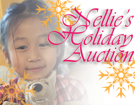 Little girl from Summer camp - Nellie's Holiday Auction