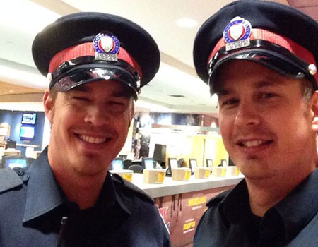 Former Nellie's residents -Toronto Policemen Terry & Jayme Provost